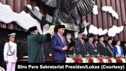 Pelantikan Presiden RI Joko Widodo periode 2019-2024