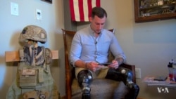 Injured Afghan, American Soldiers Face Different Realities