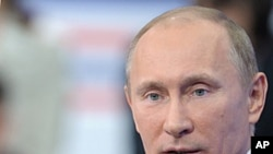 俄羅斯總統普京12月15號在莫斯科電視節目上