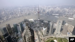图为中国上海环球金融中心。