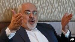 آقای ظریف گفت که ایالات متحده می تواند بر سوء اعتماد خود نسبت به ایران فایق آید.