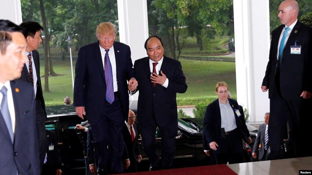 Thủ tướng Việt Nam bày tỏ muốn Mỹ trở lại với TPP