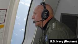 美国海军太平洋舰队司令斯威夫特。