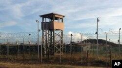 نمایی از بازداشتگاه گوانتانامو