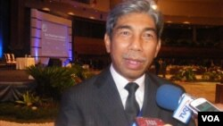Direktur Jenderal Informasi dan Diplomasi Publik Kementerian Luar Negeri A.M Fachir pada acara Bali Democracy Forum (9/11)