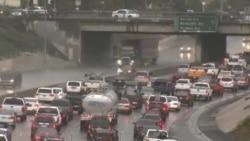 Наводнения и оползни в Лос-Анджелесе