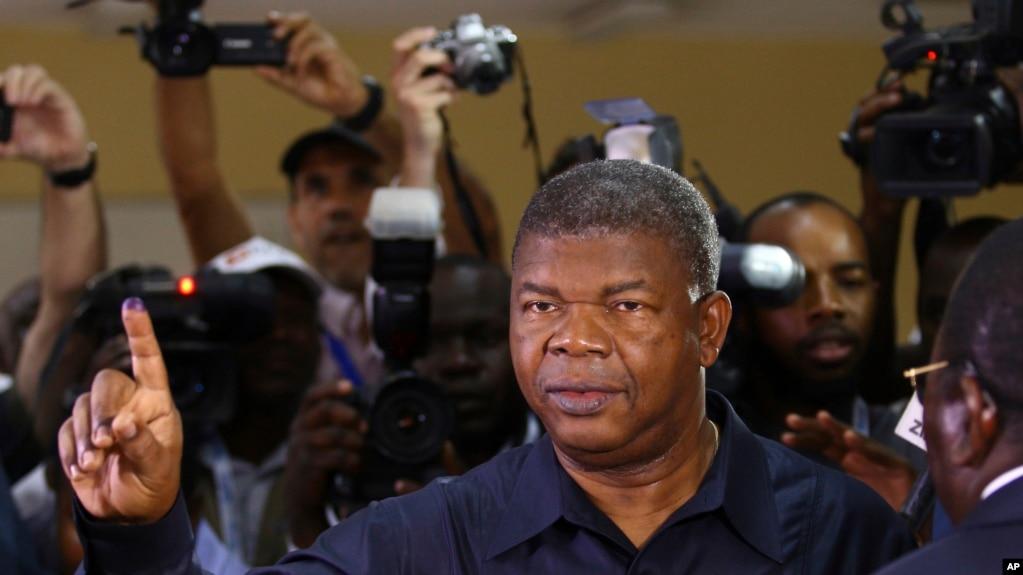 Le président angolais Joao Lourenço, Luanda, le 23 aout 2017