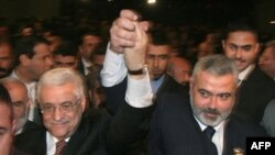 Filistinli Liderlerin İmza Töreni Kahire'de