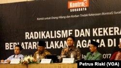 Ketua Komnas HAM Imdadun Rahmat Jadi Pembicara dalam Seminar Radikalisme dan Kekerasan Berlatar Belakang Agama