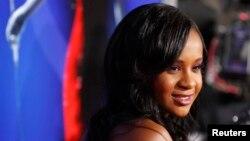 Bobbi Kristina Brown, putri Whitney Houston dan Bobby Brown, dalam sebuah acara di Hollywood, California, 2012. (Reuters/Fred Prouser)