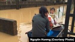Lũ lụt Quảng Bình, ngày 31 tháng 10 năm 2016.