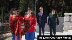 Predsednik Crne Gore Milo Đukanović na Gorici, gde je održana svečana akademija povodom Dana državnosti (Foto: Televizija Crne Gore)