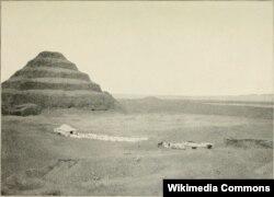 The step pyramid of Djoser