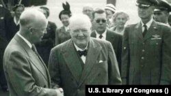Dwight D. Eisenhower i Winston Churchill 1953. godine (Ljubaznošću: U.S. Library of Congress)