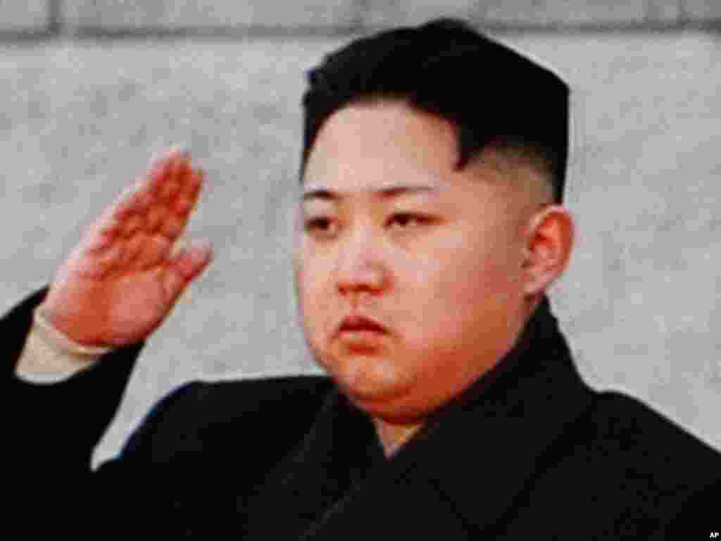 Kim Jong Il's heir, his third son Kim Jong Un, has risen to power swiftly in North Korea since being made a four-star general one year ago. (AP)