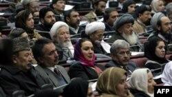 В афганском парламенте.