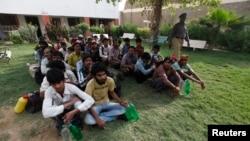 پاکستانی میں قید بھارتی ماہی گیر (فائل فوٹو)