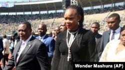 VaConstantino Chiwenga naMuzvare Mai Marry Mubayiwa