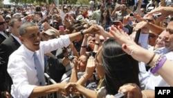 Popullariteti i presidentit Obama arrin nivelin më të lartë në dy vjet