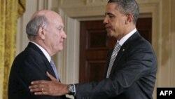 Уильям Дэйли и Барак Обама