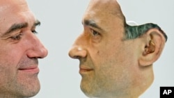 Odštampano lice Marija Hutenhofera, direktora nemačke kompanije za trodimenzionalno štampanje, 3D Fab (arhiva)