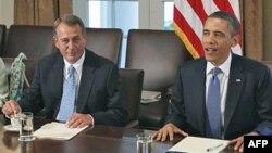 Predsednik Barak Obama održao je nekoliko sastanaka sa demokratskim i republikanskim liderima iz Kongresa bez postizanja kompromisa.