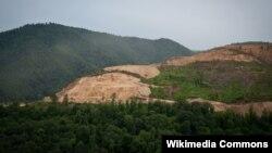 Teghut Strip Mining Forest Destruction by Vallex Corp in Armenia
