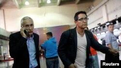 Jorge Ramos partió del hotel en Caracas, la mañana del martes, bajo estrictas medidas de seguridad rumbo al aeropuerto Simón Bolívar para viajar de regreso a México.