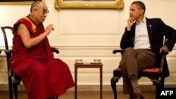 Obama Çin'in İtirazına Rağmen Dalai Lama'yla Görüştü