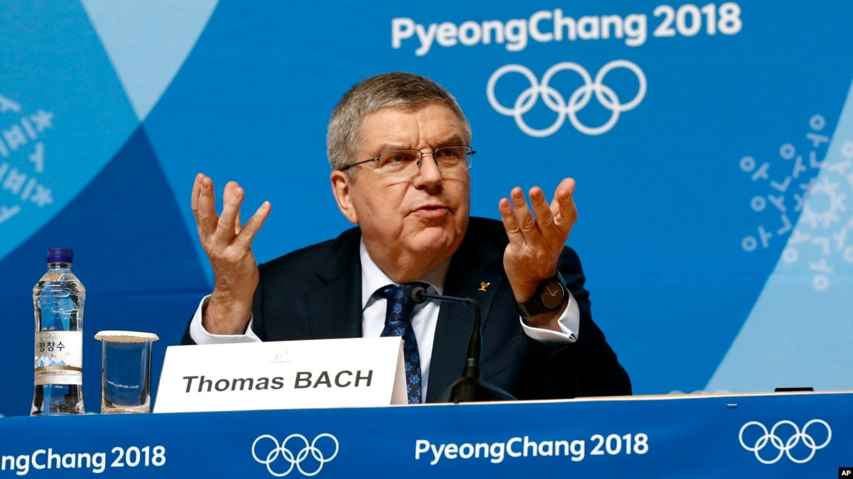 IOC President to Visit North Korea After Games