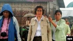 ကုလအထူးစံုစမ္းစစ္ေဆးေရးမွဴး Ms Yanghee Lee ရခိုင္ကို သြားေရာက္စဥ္ (ဇြန္လ ၂၀၁၆)