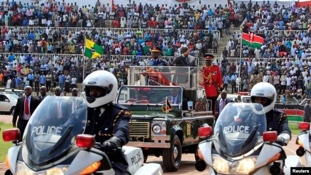 President Mwai Kibaki wa Kenya