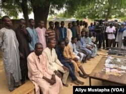 Wasu makamai da aka kwace daga mayakan kungiyar Boko Haram.