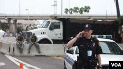Полициско обезбедување за Националната конвенција на републиканците