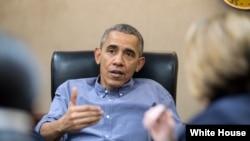 اوباما وايي امریکا د داعش ضد جګړې کې اوربند ندی کړی
