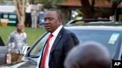Ông Uhuru Kenyatta, ứng cử viên tổng thống Kenya