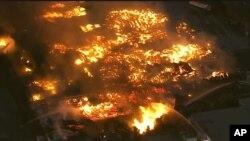 El Gobernador Jerry Brown declaró este martes el estado de emergencia en el condado de Mariposa.