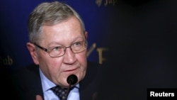 European Stability Mechanism Managing Director Klaus Regling says on April 5, 2016, international lenders may finish their review of Greek reforms by the end of April or early May.