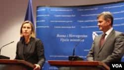 Frederica Mogherini i Denis Zvizdić