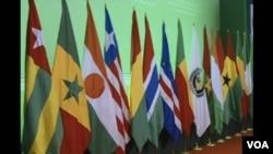 Bandeiras dos países da Cedeao