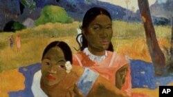 Bức tranh sơn dầu 'Khi nào em lấy chồng?' (Nafea Faa Ipoipo) vẽ năm 1892 được bán với giá gần 300 triệu đô la.