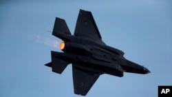 عکسی از یک جنگنده نیروی هوایی اسرائیل