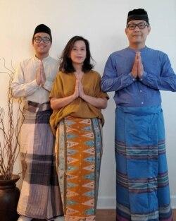 Geliga Purnama dan keluarga. (Foto: Dok Pribadi)