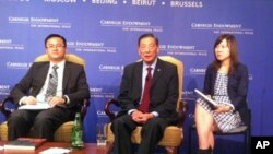 2012年弗里德曼自由獎得主茅于軾在卡內基和平基金會談中國經濟、政治和美中外交