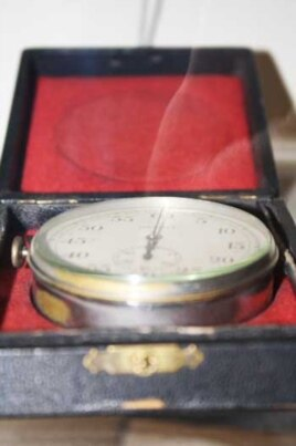The stopwatch Hugh Tracey used to time his recordings