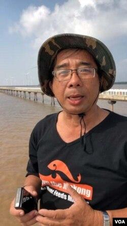 TS Lê Anh Tuấn. [photo by Ngô Thế Vinh]