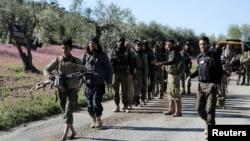 Sirijski pobunjenici blizu Afrina