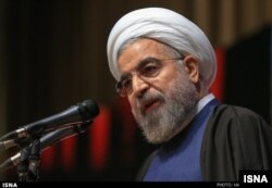 Iranian President Hassan Rouhani presented a 'tight' budget based on falling oil prices.