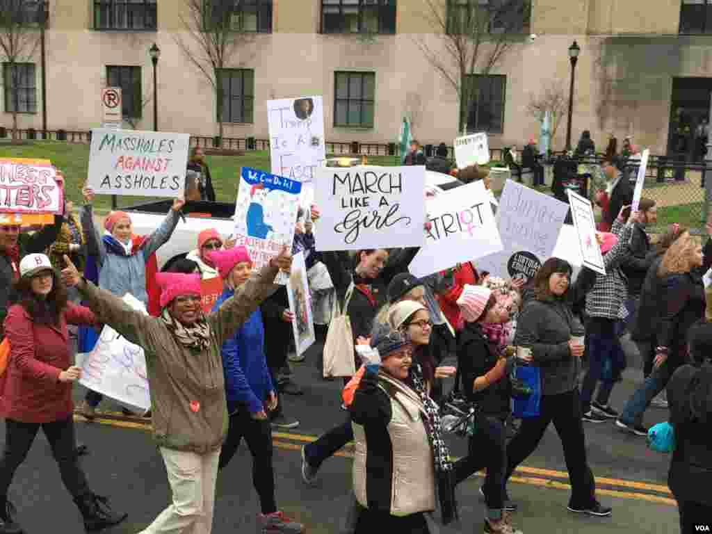 women's March on Washington D.C