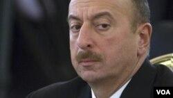 Ilham Aliyev angry